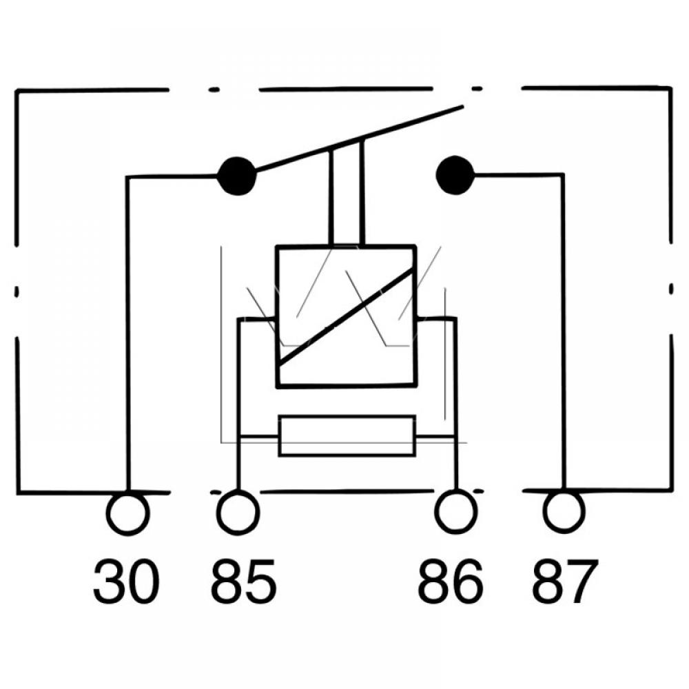 Power Relay Reference 899918 Diagram