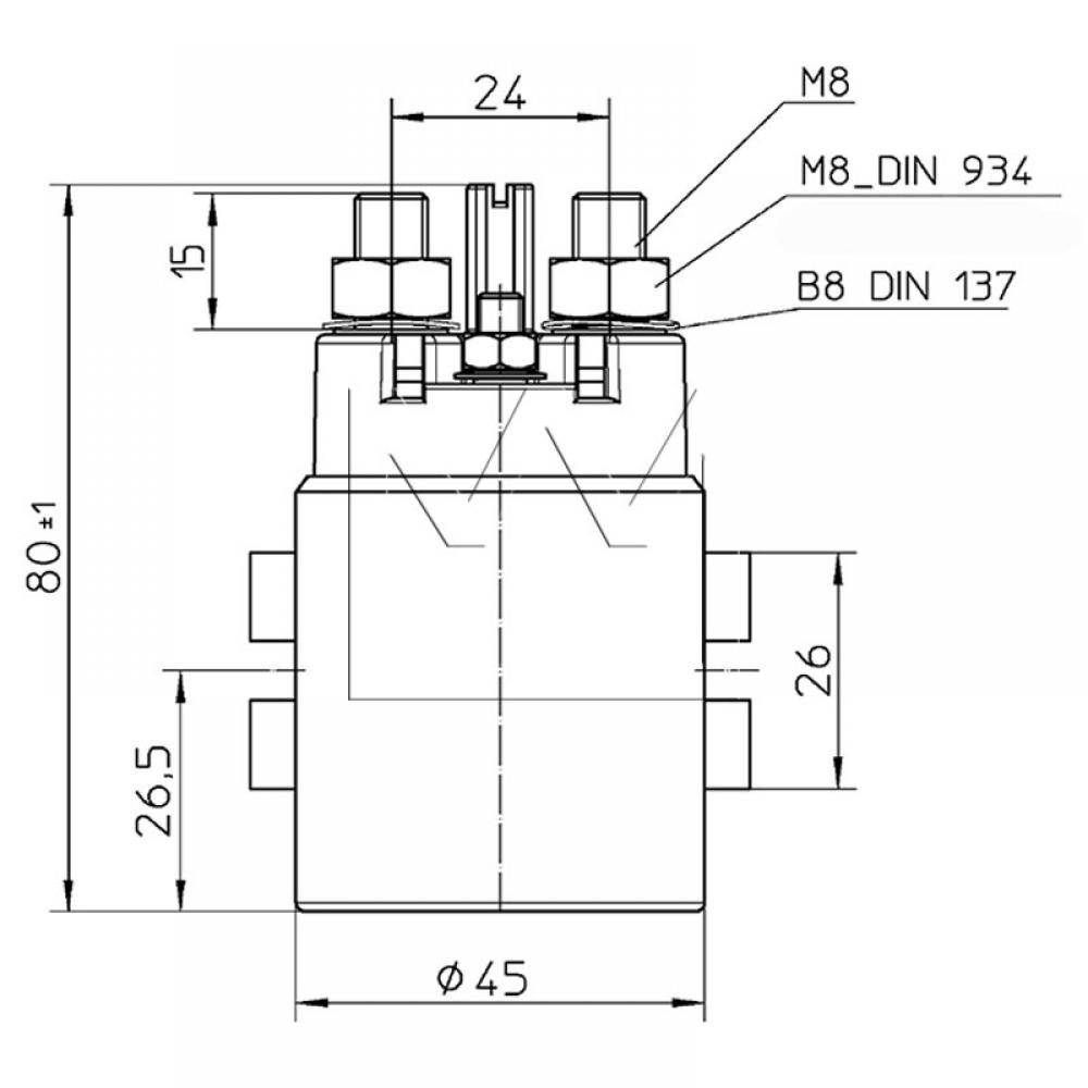 Power Relay Reference 24v 150a Diagram
