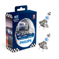 2x Philips H7 55W12V Racing Version in Hardcoverbox Sock. PX26d